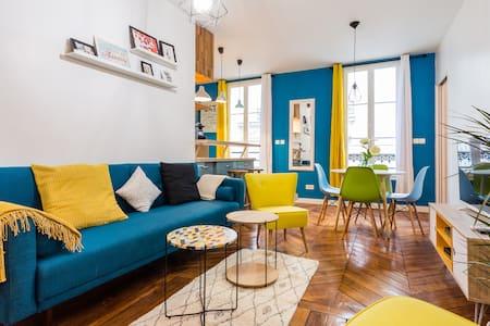 Beautiful typical parisien apartment - 巴黎 - 公寓