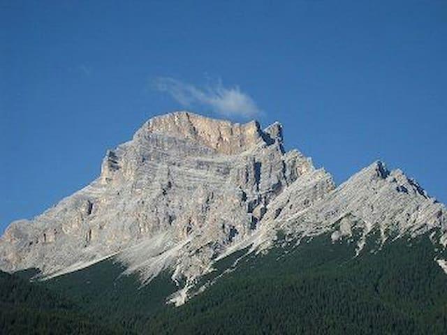 Romantica mansarda fra le Dolomiti
