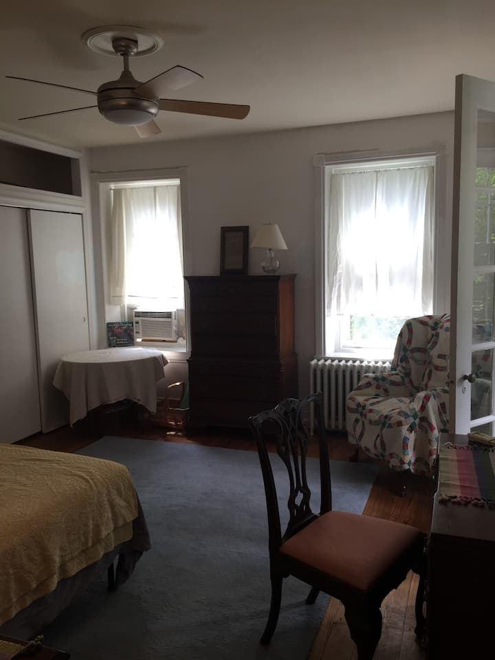 The House on Morton Street- with sunroom