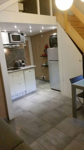 studio plein centre avec wifi - Mont-de-Lans - Apartment