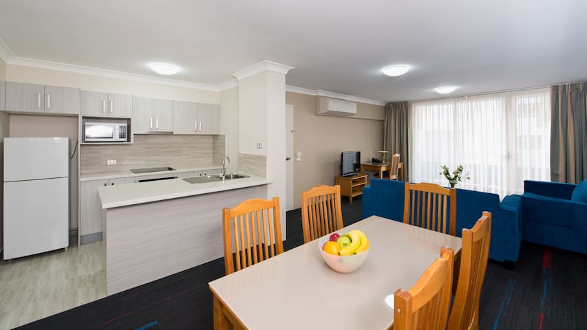 Two Bedroom Apartment at APX Parramatta