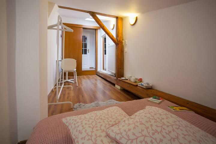 Cozy room on Dolní náměstí
