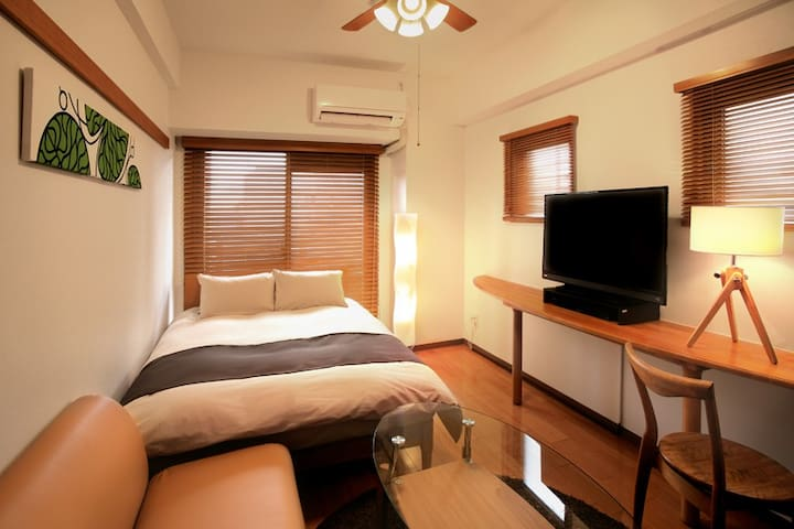 Furnished apartment hotel 3 min from Kyoto Station