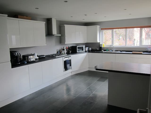 Luxury 4 bed house in nice area - Manchester - Casa