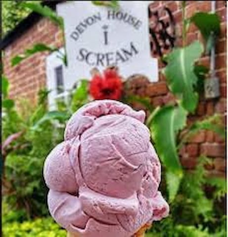 World famous Devon House Ice-Cream just a few minutes away..