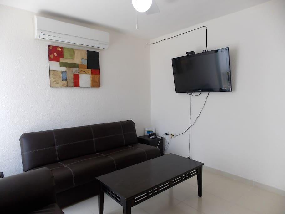 Sala con Tv con SKY