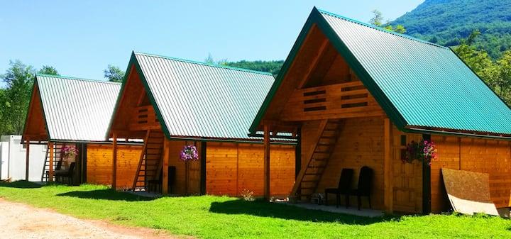 Camp Sutjeska in Sutjeska national park