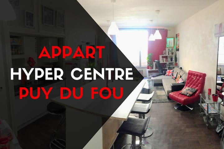 ★★★ Grand Appartement Spacieux 55m2 ★★★
