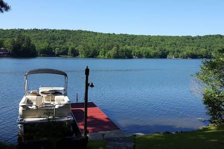 Lake Front home, stunning views, couples get away