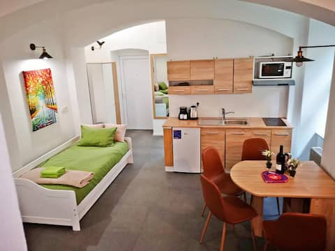 art apartment - the best location in city center