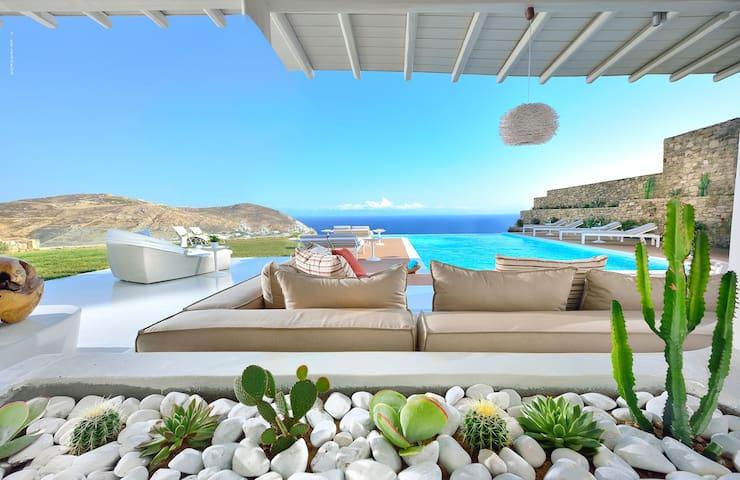 Malena | 5 Bedroom Villa | Panoramic Elia View | - Elia - Willa