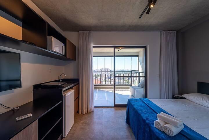 VNBR1401 Apartamento minimalista no Bom Retiro