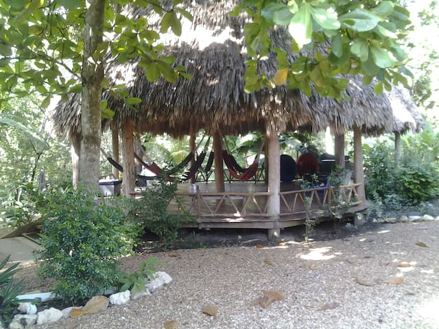 riverside cabana near san ignacio - Bullet Tree Falls - Rumah