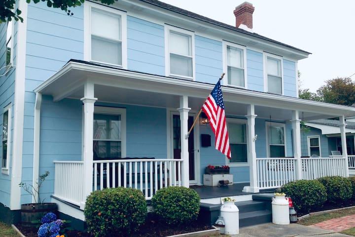 The Ichabod Mason House on Ann