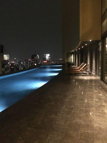 2) One Bed/Sukhumvit 24/BTS/Emquartier/Wifi - Bangkok - Daire
