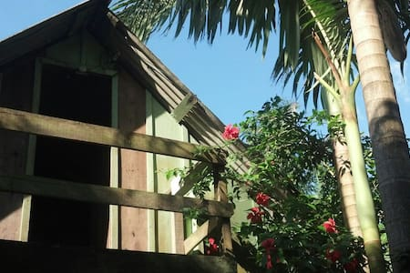 A place between the sea and the jungle! - Paranaguá - 自然小屋