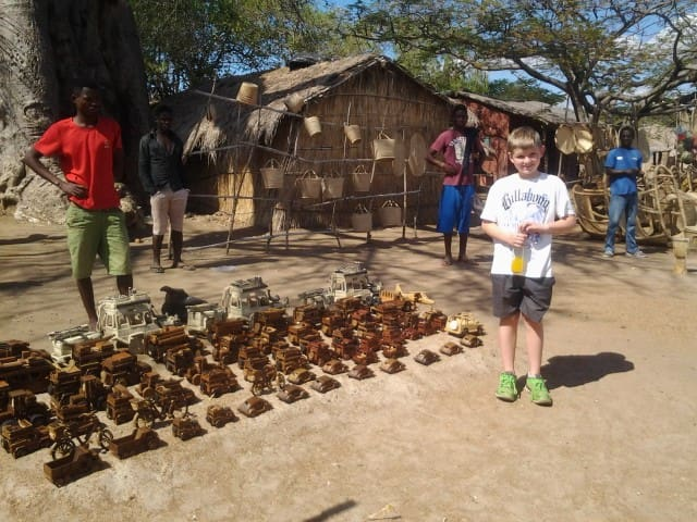 There is a local African craft market about 1km from the cottages on the turn-off to Cape MacClear