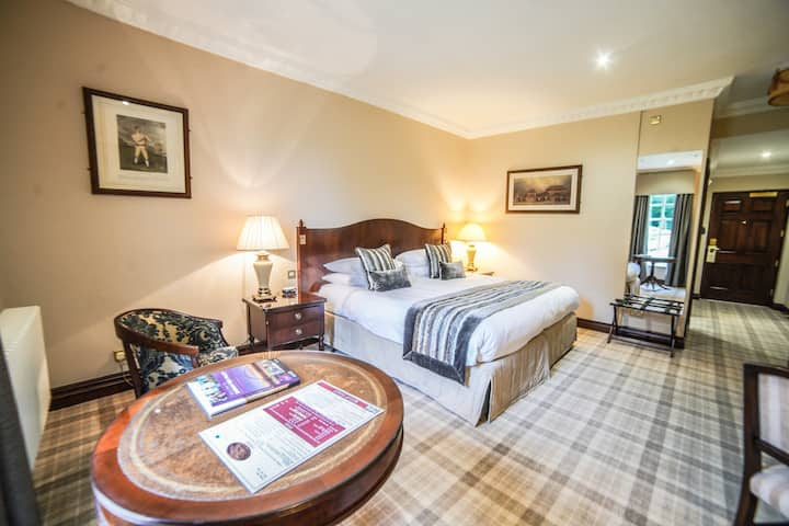 Deluxe Double Room at Hardwick Hall Hotel