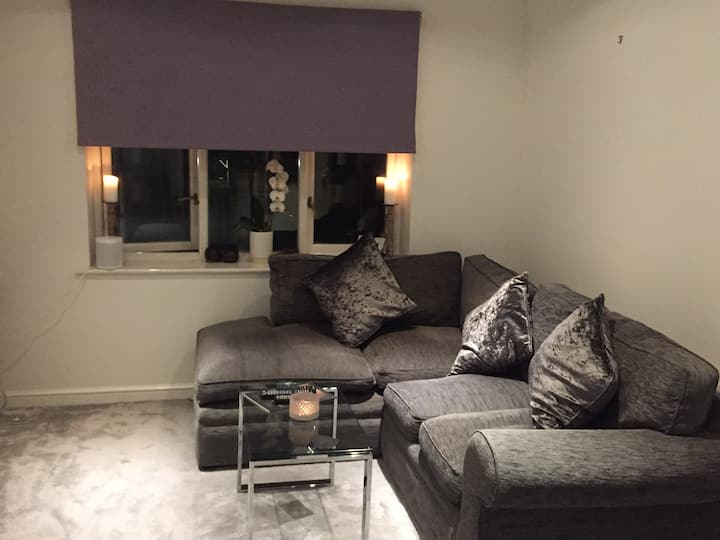 Entire bright and spacious one bedroom flat!