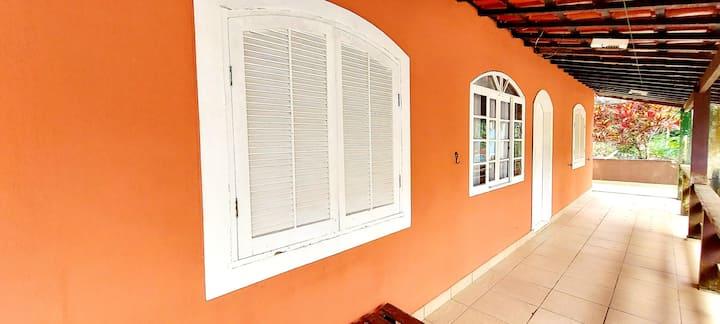 Casa (Pé na Areia) em Picinguaba/ Ilha das Couves