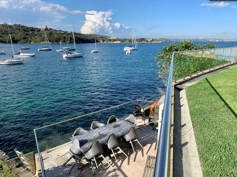 Waterside Flat in Manly's Best Apartment Block
