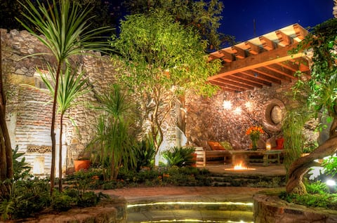 One of our gorgeous garden patios