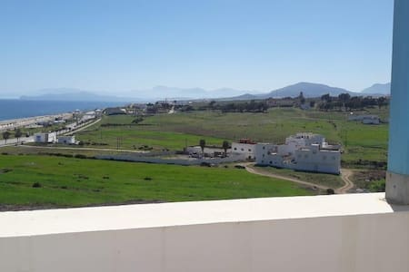 Apartment in Fnideq with direct sea view