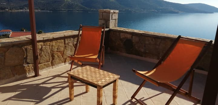 Cozy Apollon Villa, Sea View, Next to Galaxidi