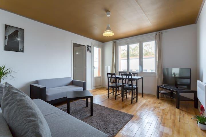 Beautiful four rooms flat - Villeurbanne - Apartment