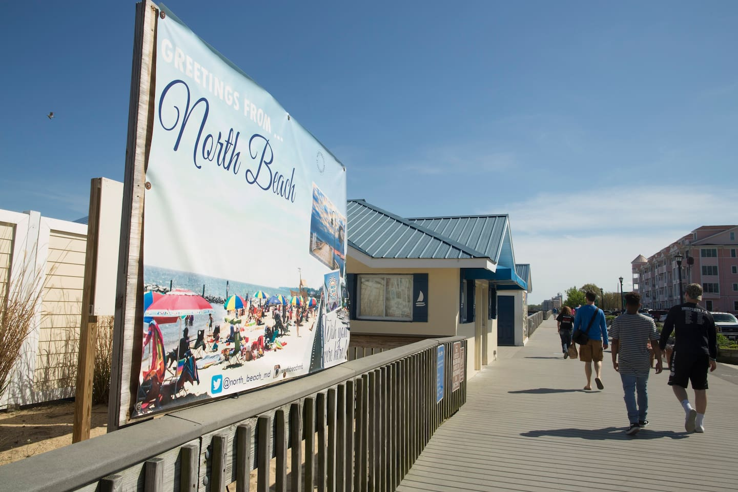 North Beach is a five minute drive away! And we have a family beach pass