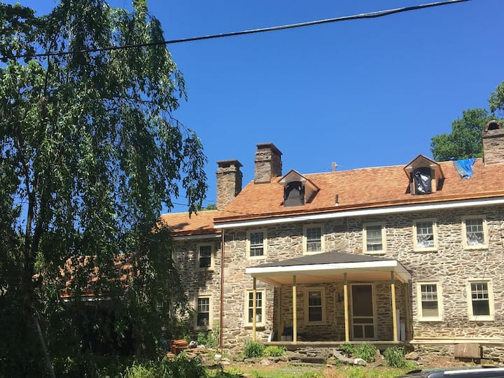 Living History: Colonial Home in Suburban Philly.
