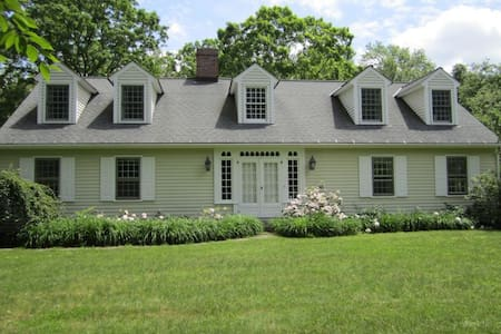 Classic Colonial Surrounded by Nature