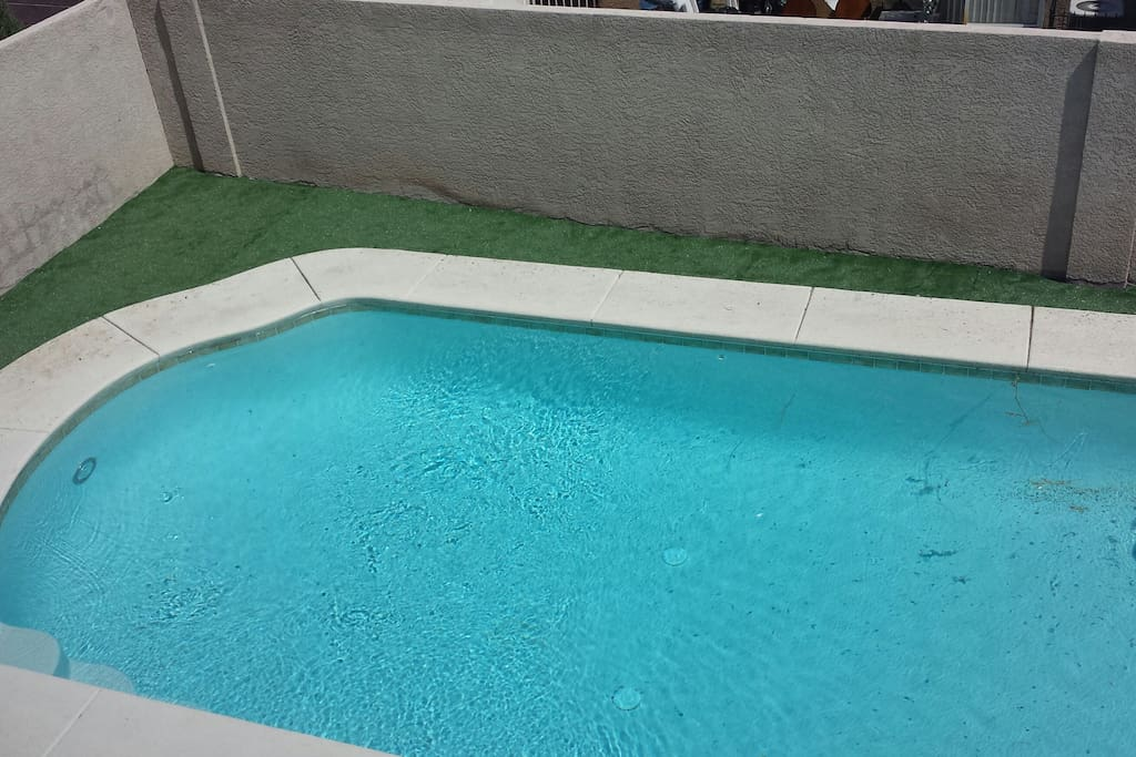 Private Pool (upstairs view)