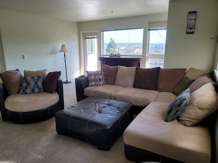 Spacious and cozy 2 BD and BA condo with view