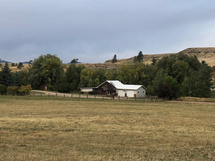 Central Montana Hunting Lodge with 7,000 + acres