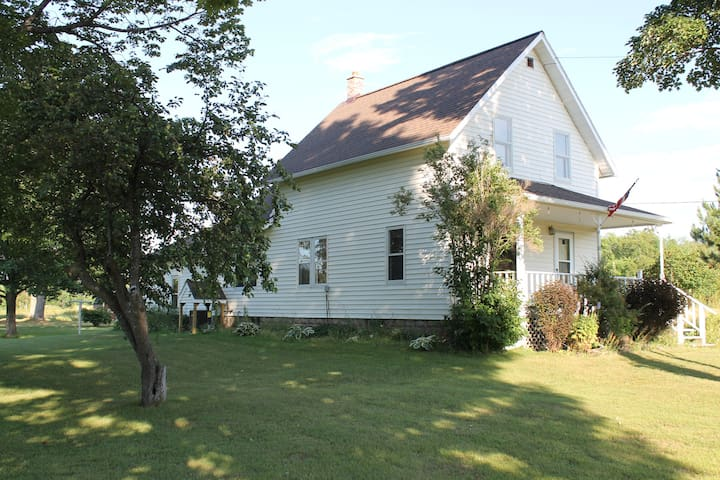 Newly listed 152 acre Farmhouse