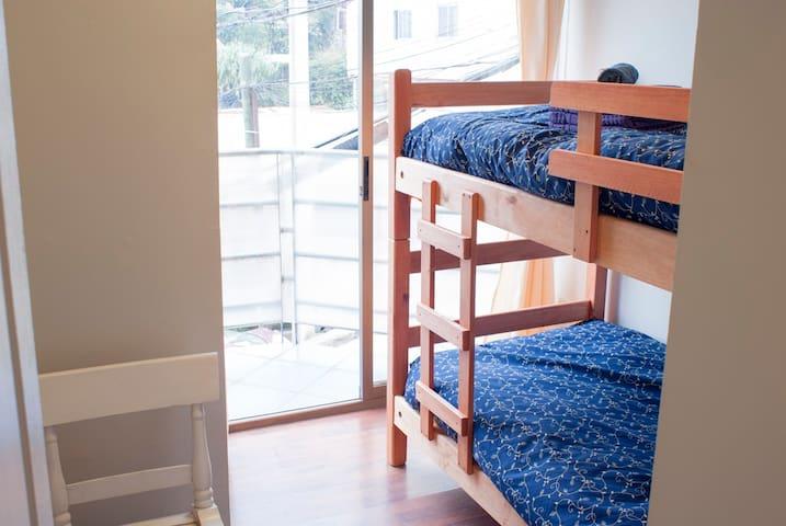 Private Bedroom Bunk Bed - Valparaíso - Casa