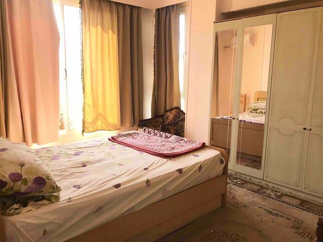 Cozy Apartment ONE Bedroom@ Sheikh zayed