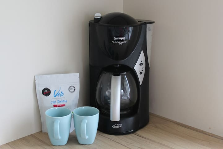 Coffee machine available