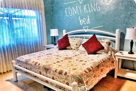 Mi Casa Linda Clean, Comfy King w ensuite,beach>5
