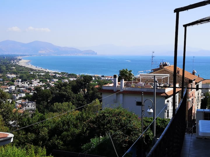 Home Holiday San Felice Circeo sea view