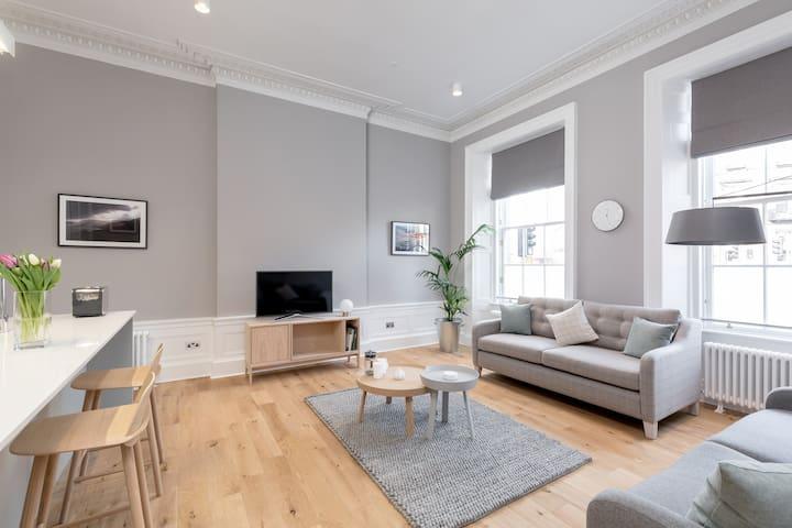 Torphichen Street 5 Star Luxury Apartment - Edinburgh - Byt