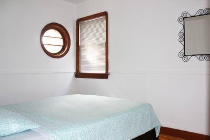 BEDROOM #2 VIEW FROM THE DOOR