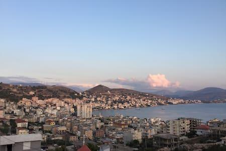 Anxhelo's Apartment with Sea View