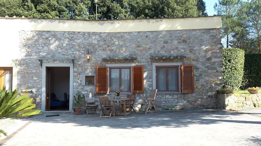 Appartamento con giardino e piscina,8km da Firenze - Scandicci - Leilighet