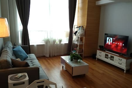 闹市里的北欧风情阳光明亮公寓 - Suzhou