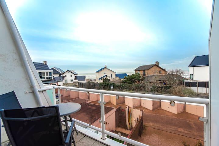 Pension Maris double room 'Ocean' with sea view & balcony