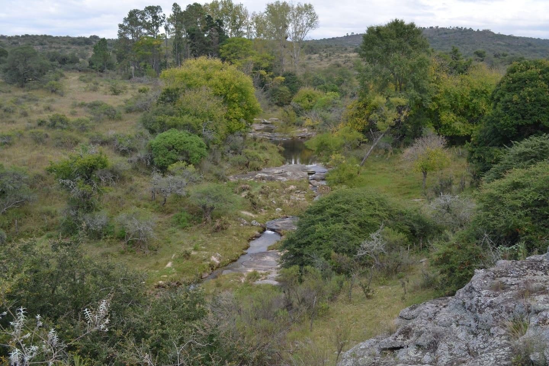 Ubicada a veinte minutos de Carlos Paz y a cinco minutos de Tanti, en el corazón del Valle de Punilla, la Finca Cueva del Indio es un lugar de vacaciones único para los amantes de la serranía cordobesa