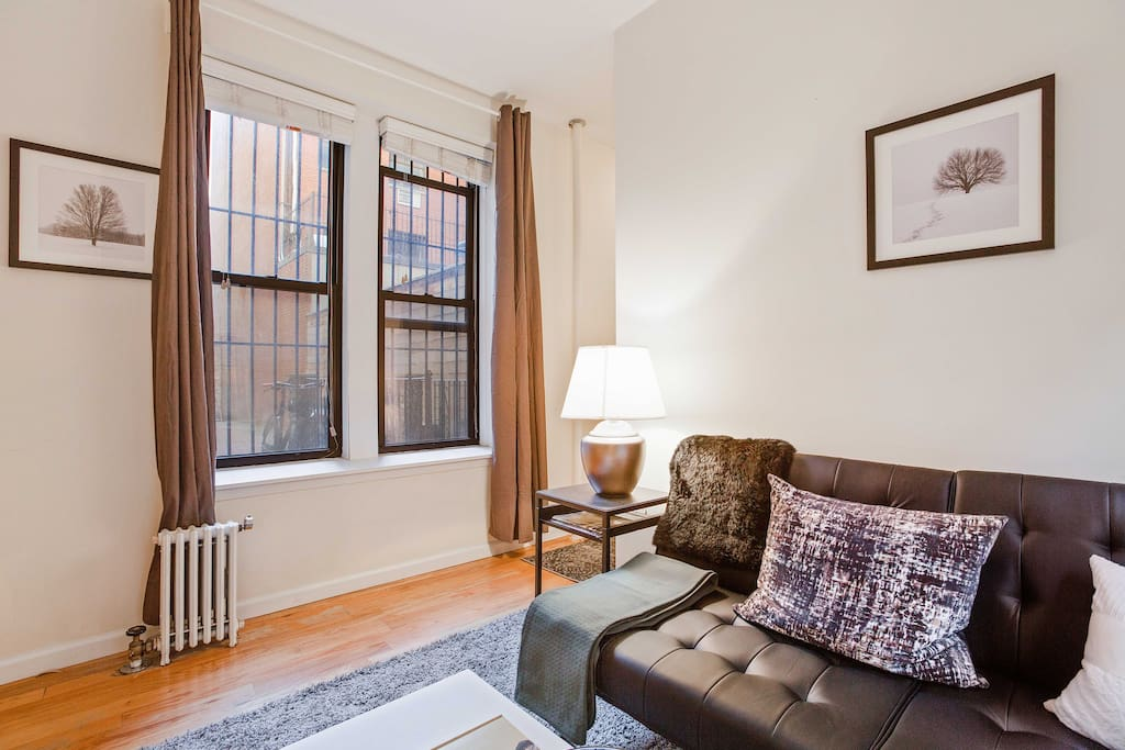Heating provided throughout with radiator pipe heating
