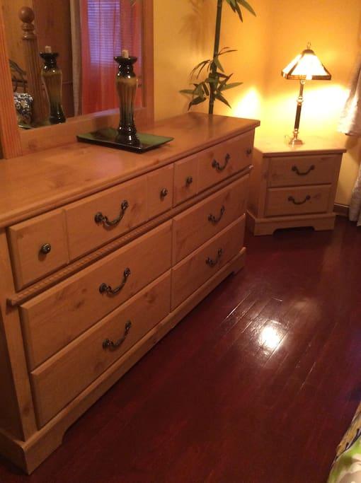 Large dresser for storage
